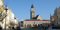 Slavonice náměstí