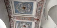 Slavonice nástěnné malby růže pánů z Hradce