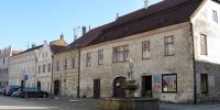 Slavonice domy na Horním náměstí