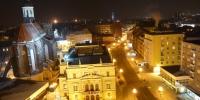 Pohled z Hlásky, Konkatedrála, Slezské divadlo