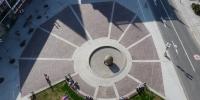 Horní náměstí, Slunce, pohled z Hlásky