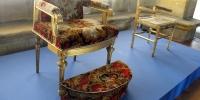 Staré židle panovníků