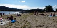 Lipno Horní Planá - pláž